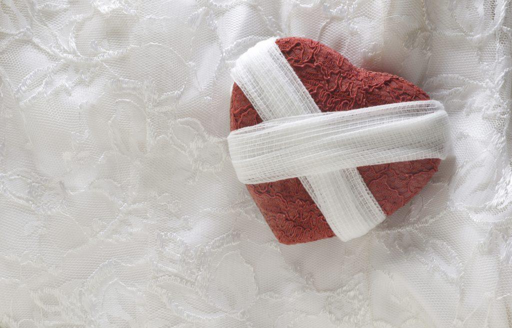 Heart,Broken,And,Bandaged
