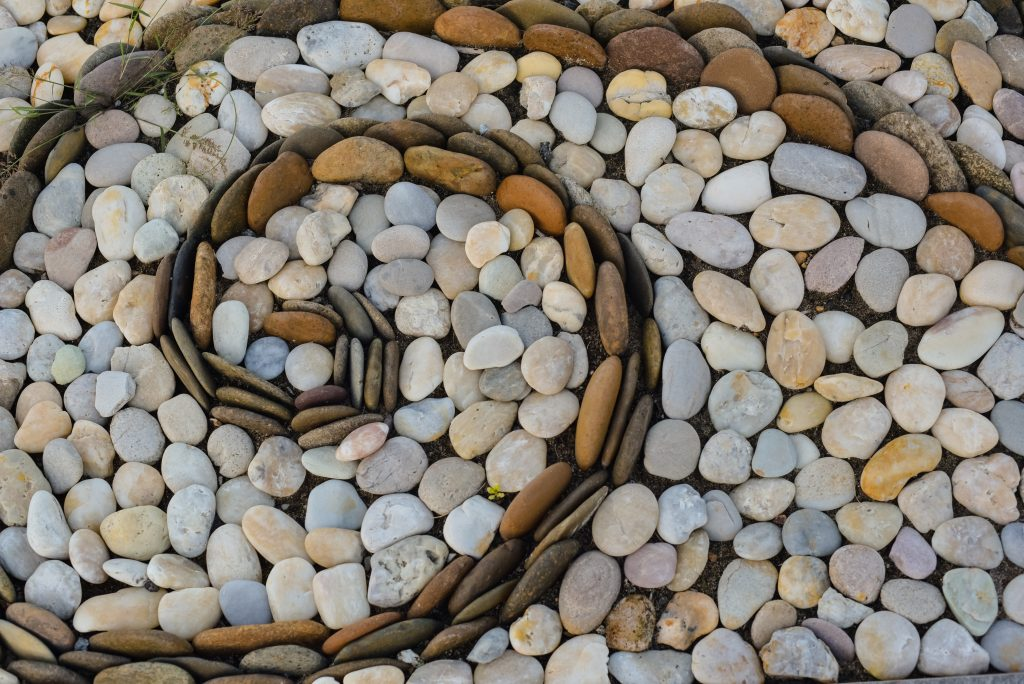 Stone,Surface,For,Foot,Massage