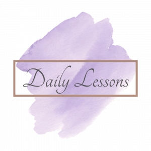 daily lessons